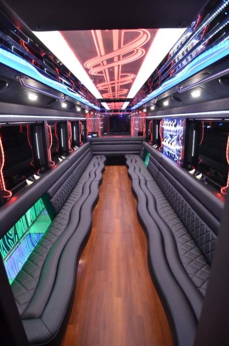 29 Passenger Party Bus Big Ben Transportation